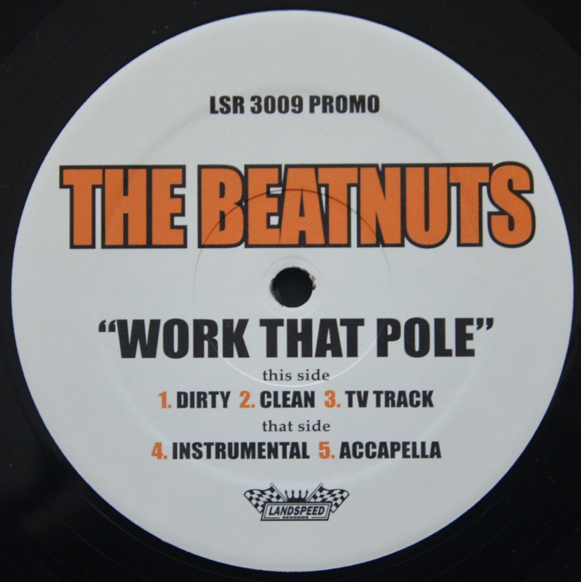 THE BEATNUTS ‎(FEAT.TONY TOUCH) / WORK THAT POLE (12