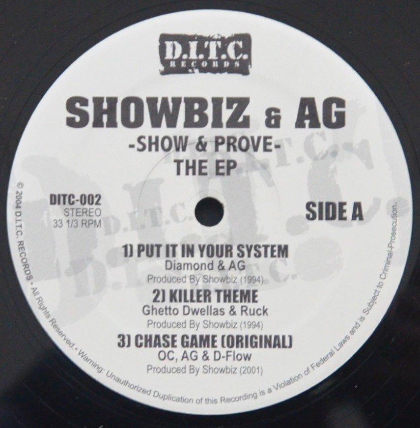SHOWBIZ & A.G. / SHOW & PROVE - THE EP (12