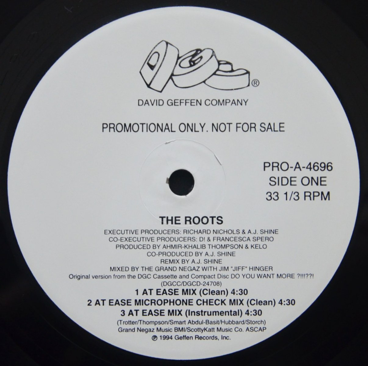 THE ROOTS / DISTORTION TO STATIC (REMIXES) (12
