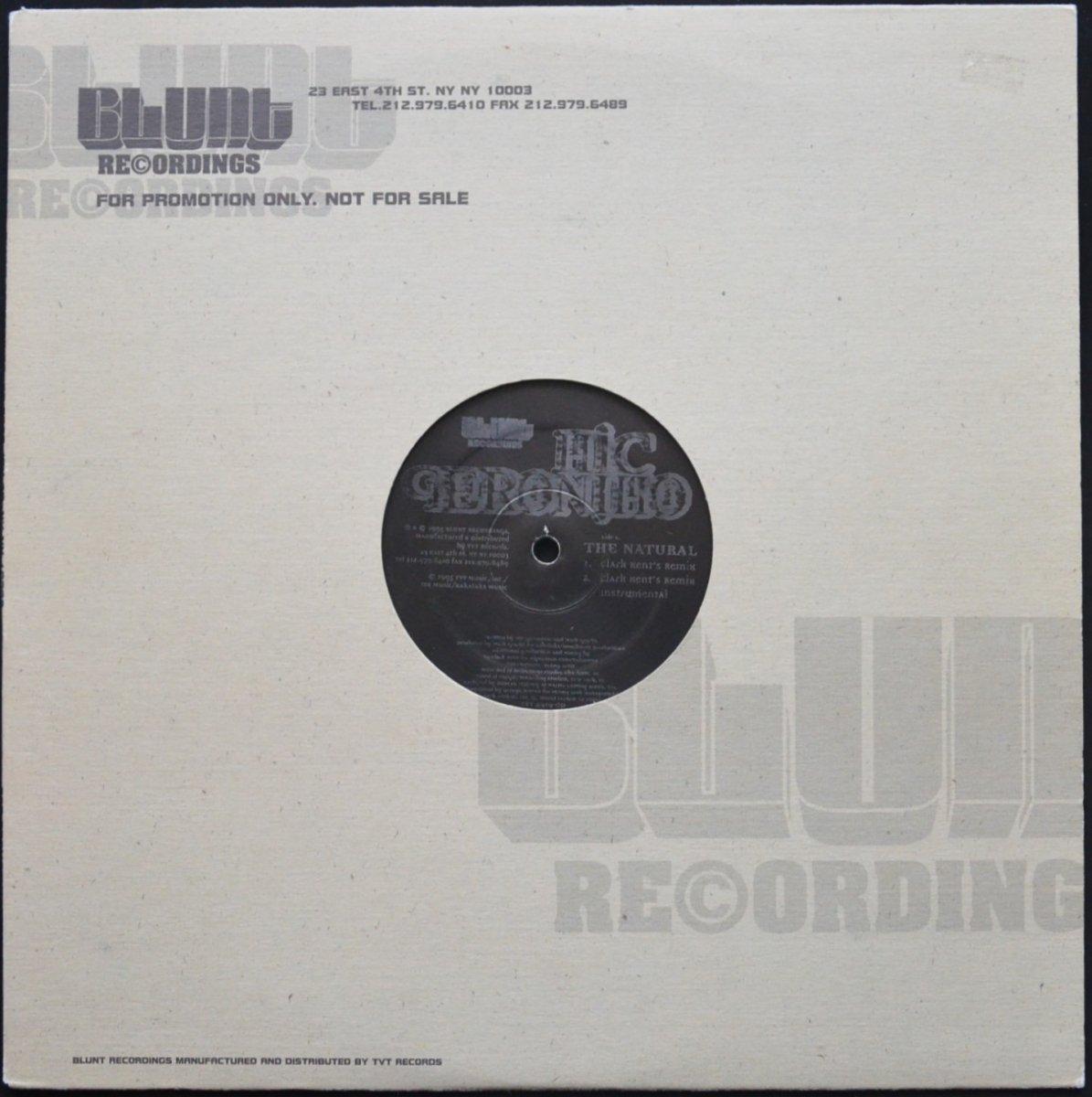 MIC GERONIMO / THE NATURAL - DJ CLARK KENT REMIX (REMIXES) (12