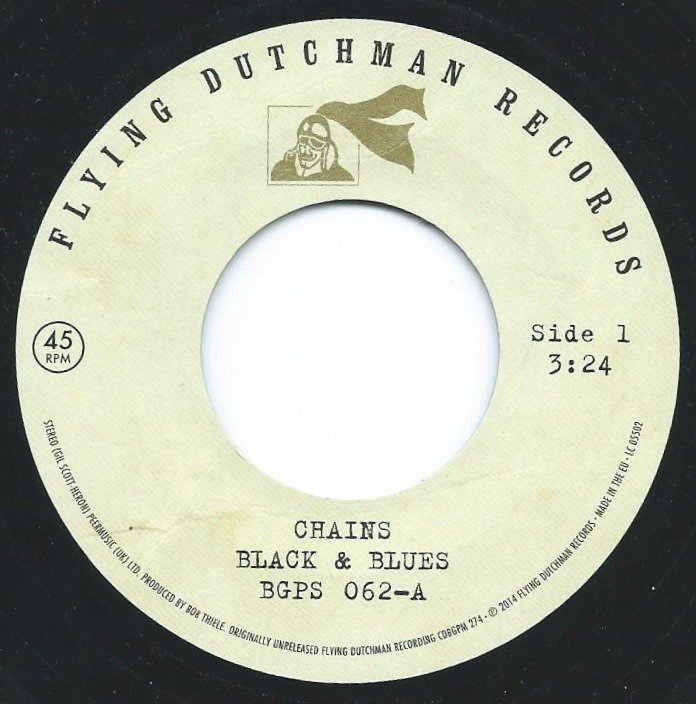 BLACK & BLUES / CHAINS / A TOAST TO THE PEOPLE (7