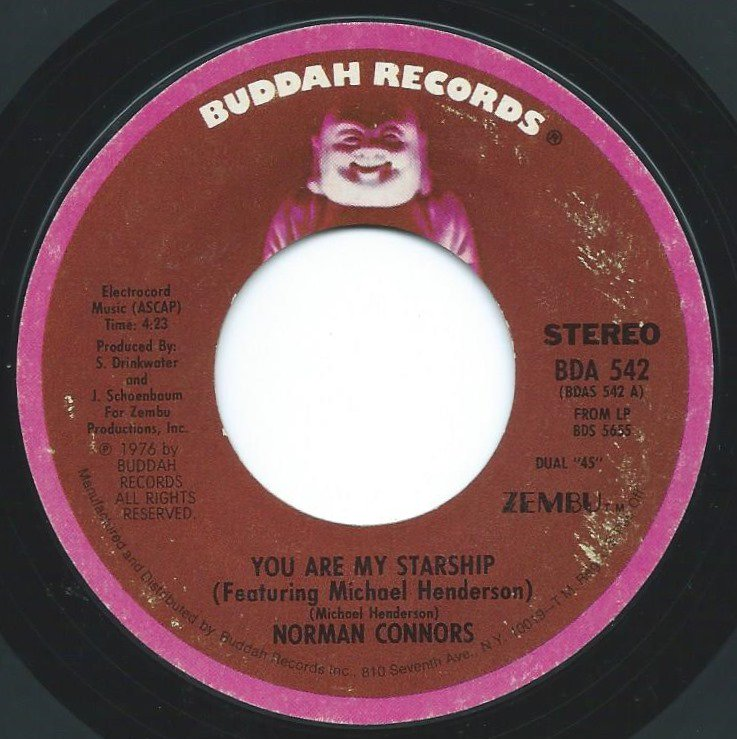 NORMAN CONNORS / YOU ARE MY STARSHIP / BUBBLES (7