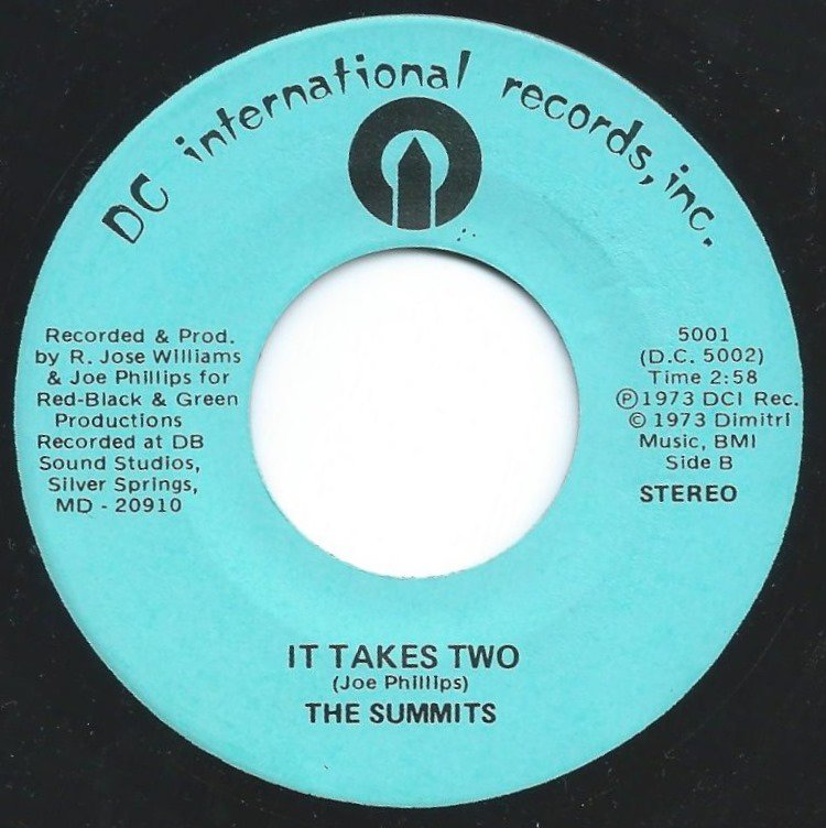 THE SUMMITS / LET ME LOVE YOU AGAIN / IT TAKES TWO (7