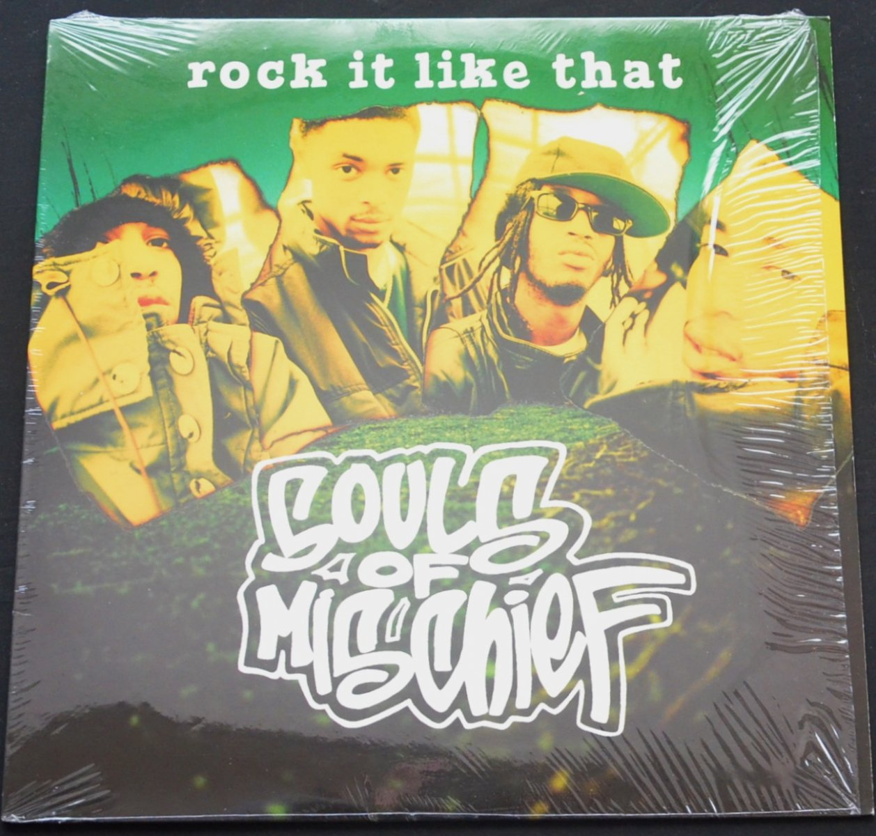SOULS OF MISCHIEF ‎/ ROCK IT LIKE THAT / SHO FOR REAL (12