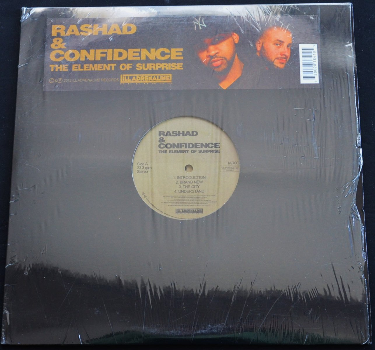 RASHAD & CONFIDENCE / THE ELEMENT OF SURPRISE (2LP)