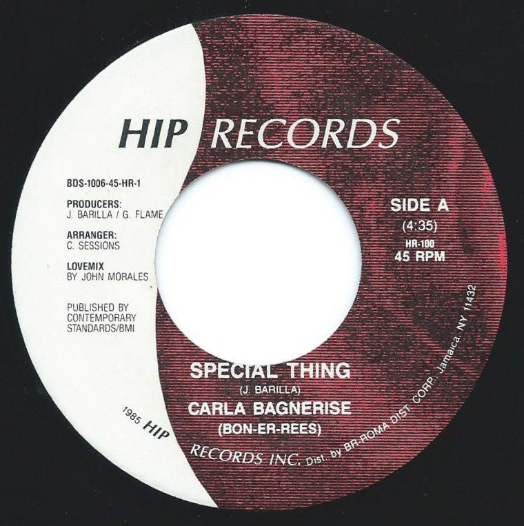CARLA BAGNERISE / SPECIAL THING (7