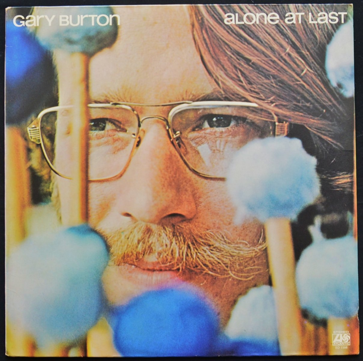 GARY BURTON ‎/ ALONE AT LAST (LP)