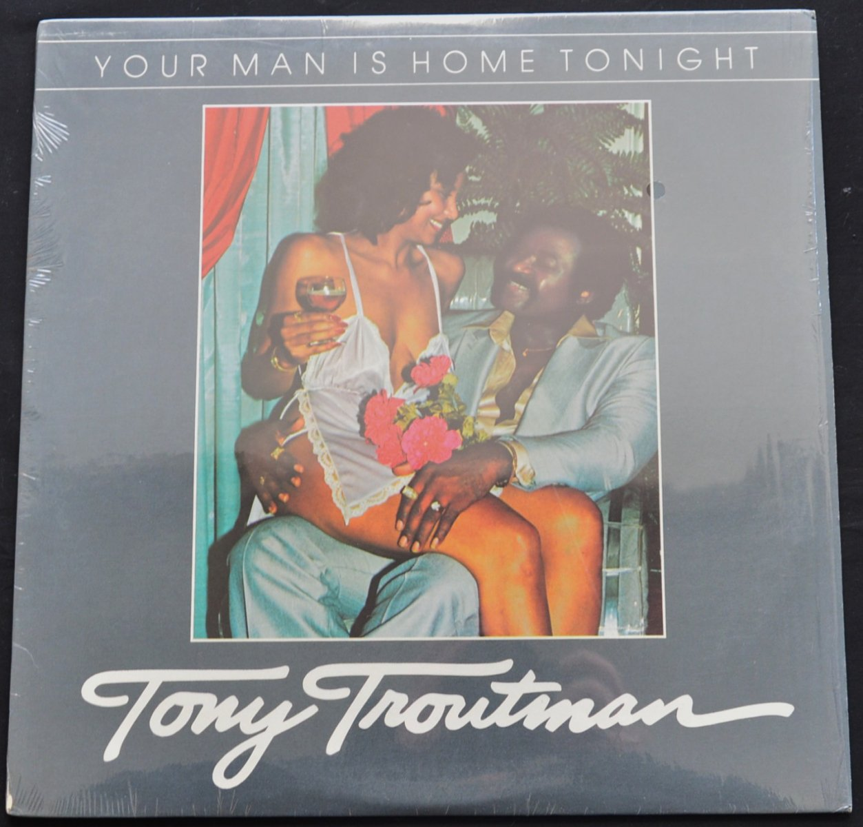 TONY TROUTMAN ‎/ YOUR MAN IS HOME TONIGHT (LP)