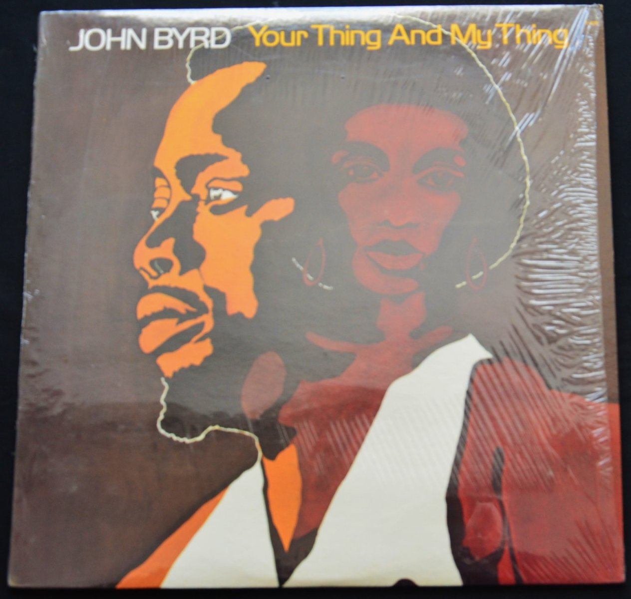 JOHN BYRD / YOUR THING AND MY THING (LP)