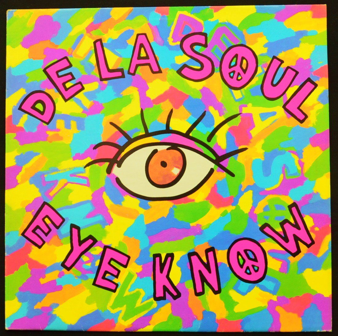 DE LA SOUL / EYE KNOW / THE MACK DADDY ON THE LEFT (12