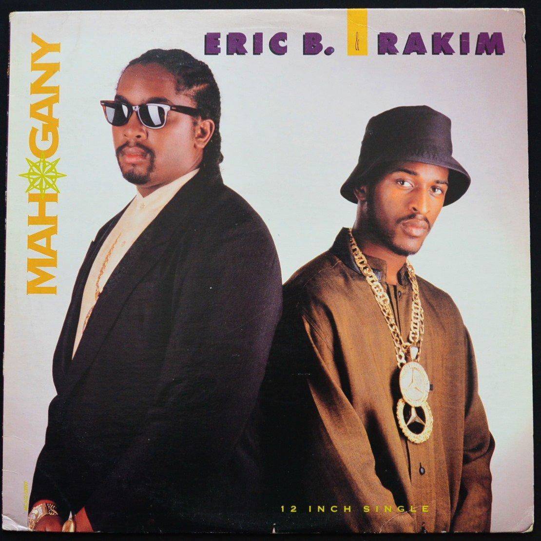 ERIC B. & RAKIM / MAHOGANY - EXTENDED REMIX / NO OMEGA - EXTENDED REMIX (12