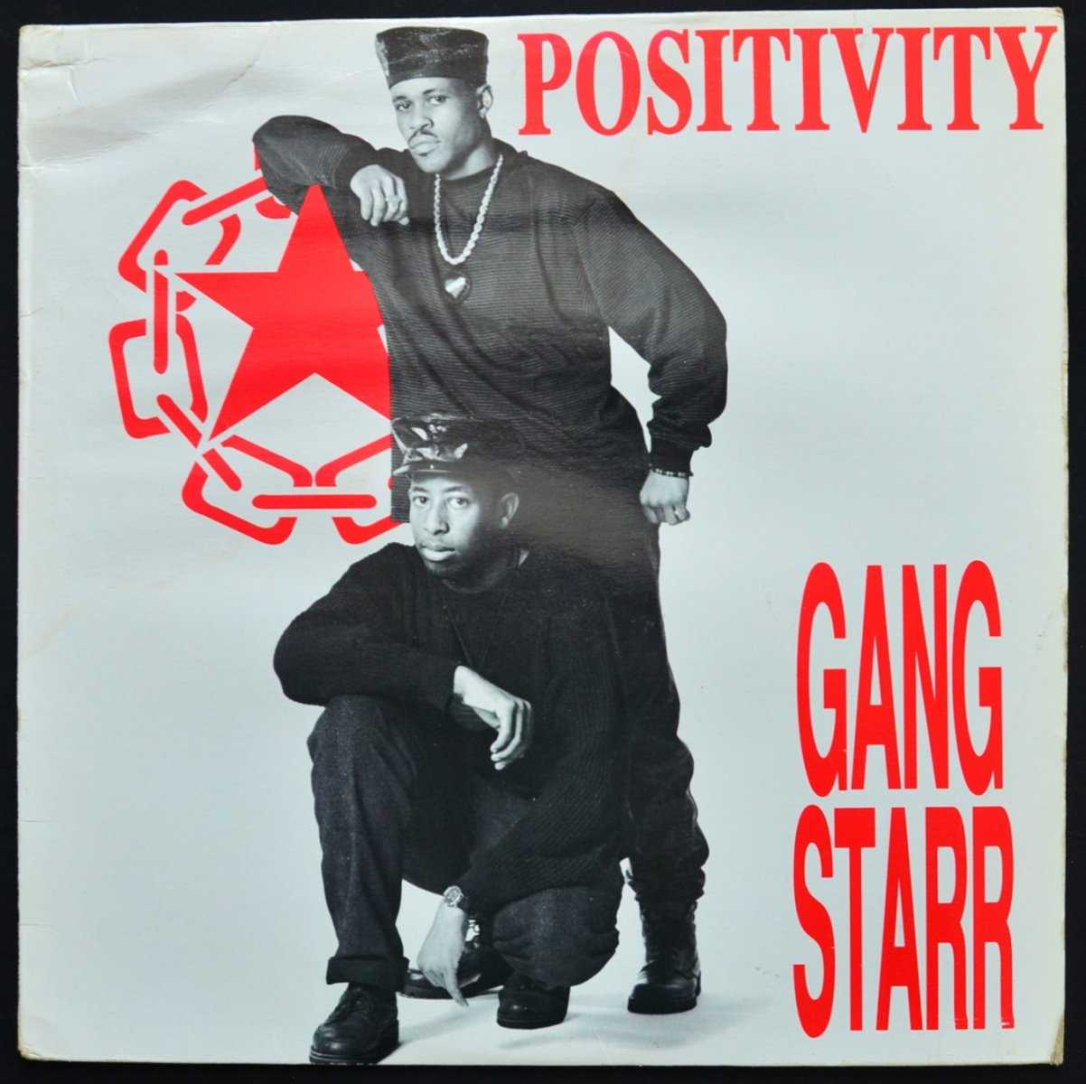 GANG STARR / POSITIVITY / NO MORE MR.NICE GUY (12