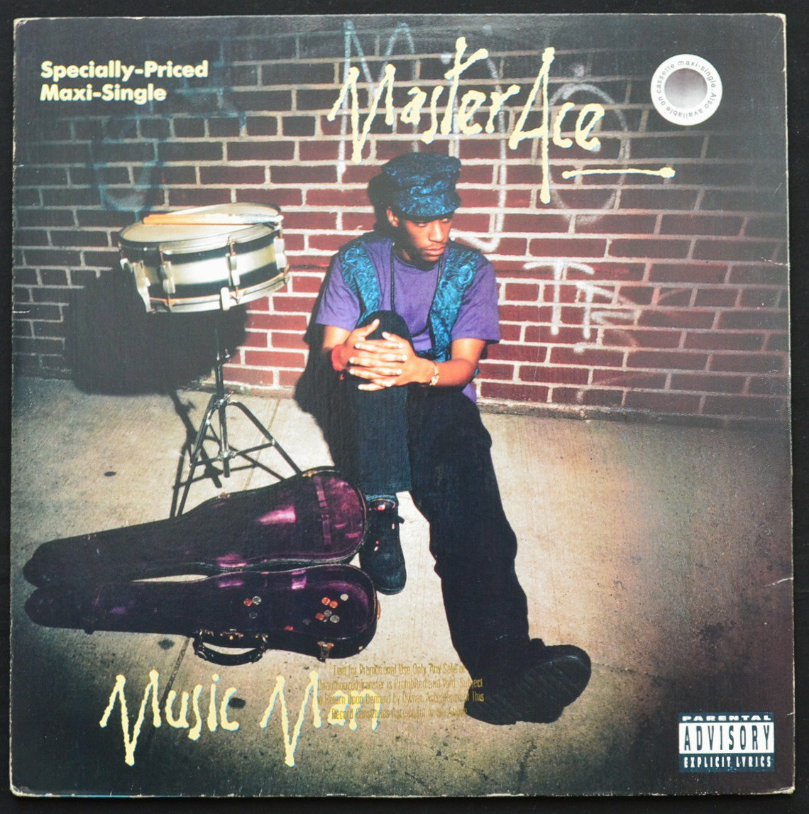 MASTER ACE / MUSIC MAN / ACE IZ WILD (PROD BY MARLEY MARL) (12