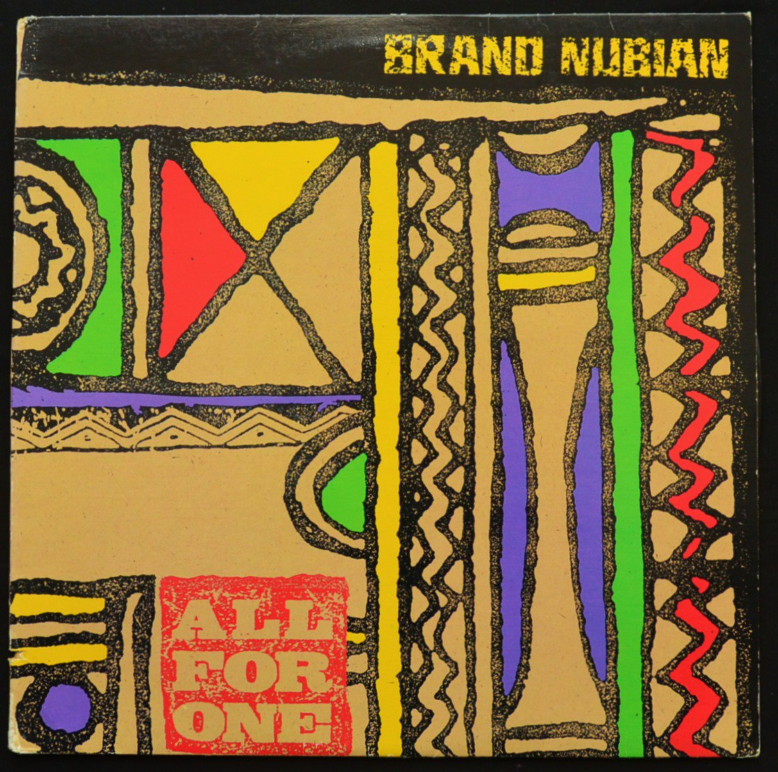 BRAND NUBIAN / ALL FOR ONE / CONCERTO IN X MINOR (12