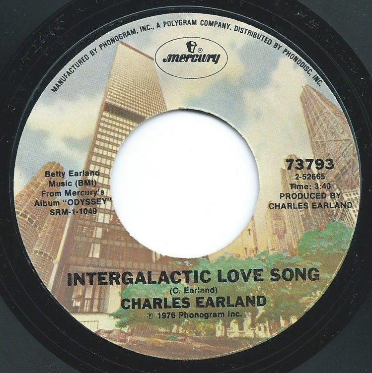 CHARLES EARLAND / INTERGALACTIC LOVE SONG / FROM MY HEART TO YOURS (7
