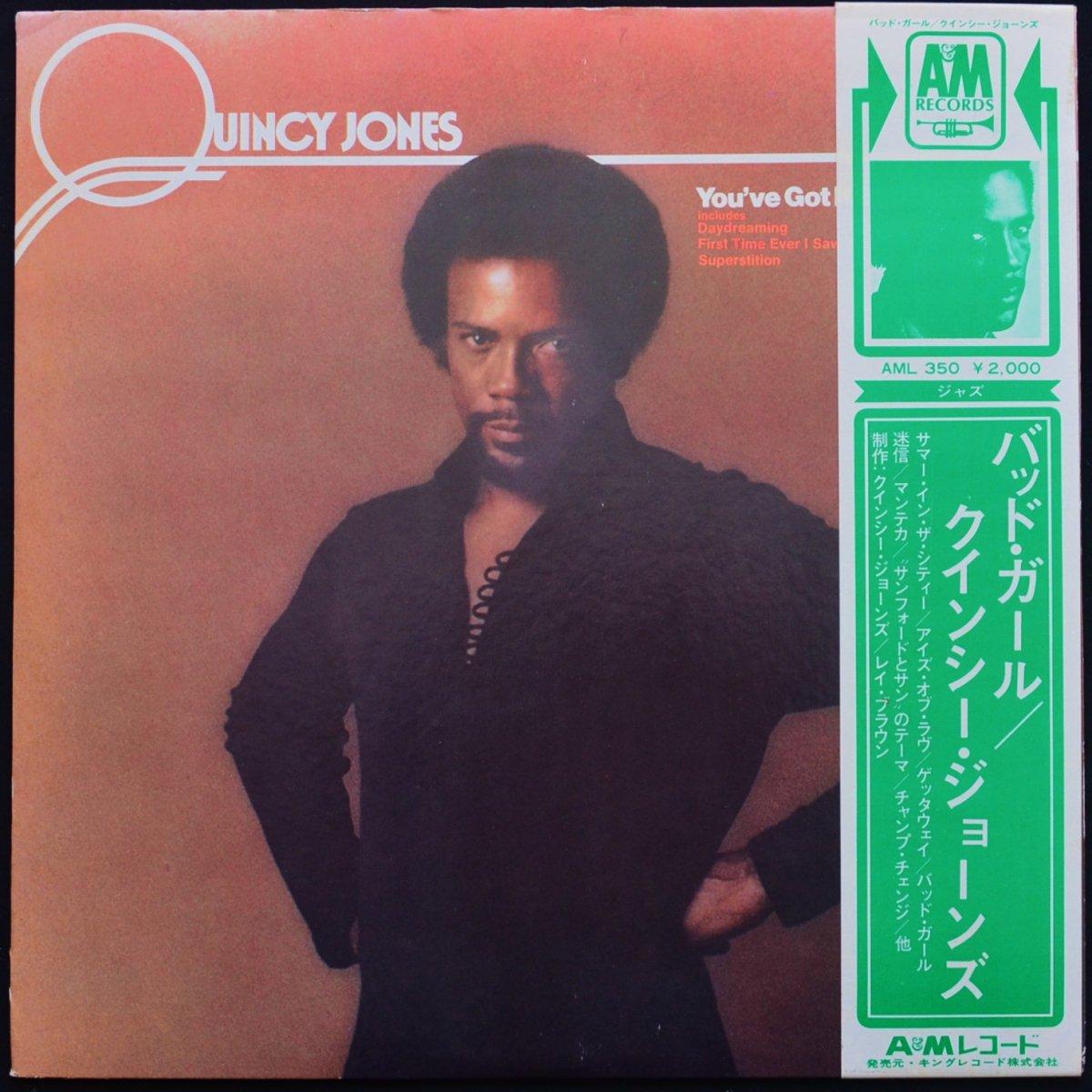 クインシー・ジョーンズ QUINCY JONES / バッド・ガール YOU'VE GOT IT BAD GIRL (LP)