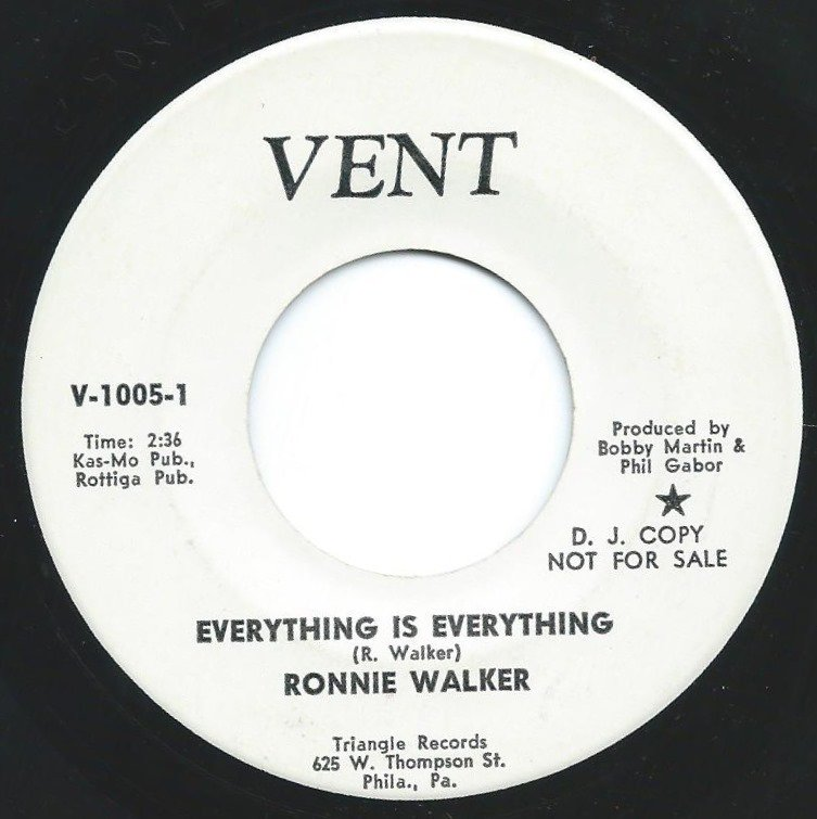 RONNIE WALKER / EVERYTHING IS EVERYTHING / PRECIOUS (7