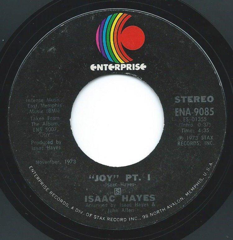 ISAAC HAYES / JOY (7