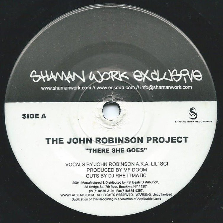 THE JOHN ROBINSON PROJECT / MADVILLAIN / THERE SHE GOES / ONE BEER (REMIX) ‎(7