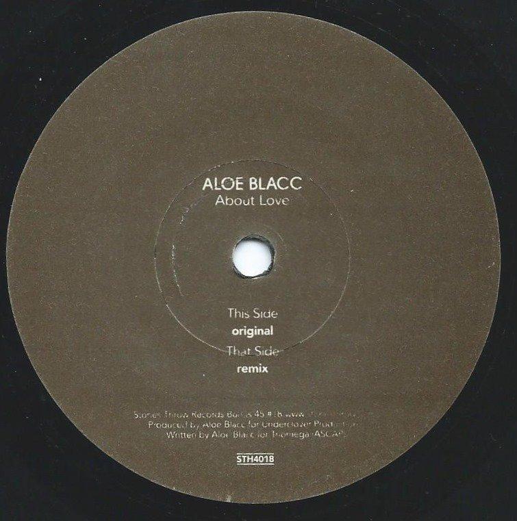 ALOE BLACC / ABOUT LOVE (7