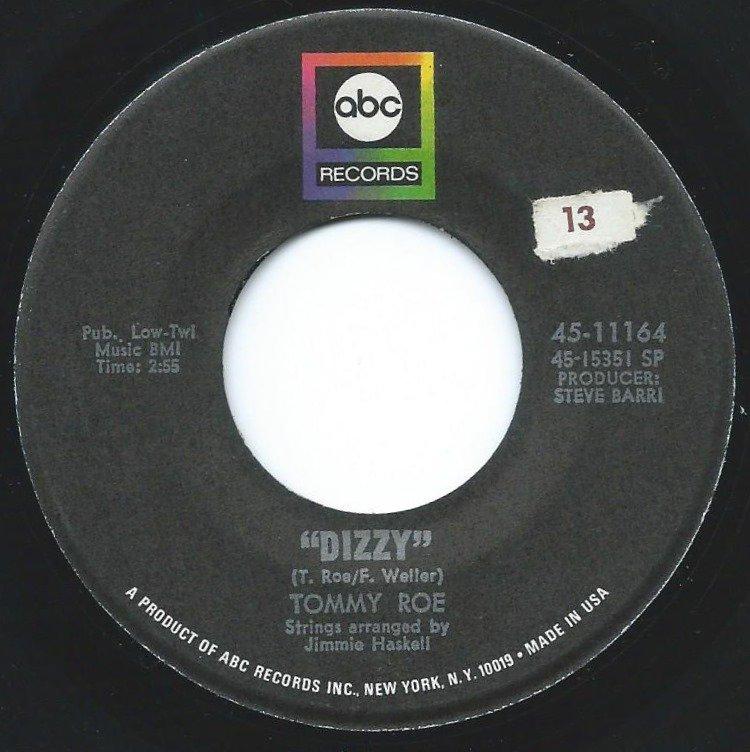 TOMMY ROE / DIZZY (7