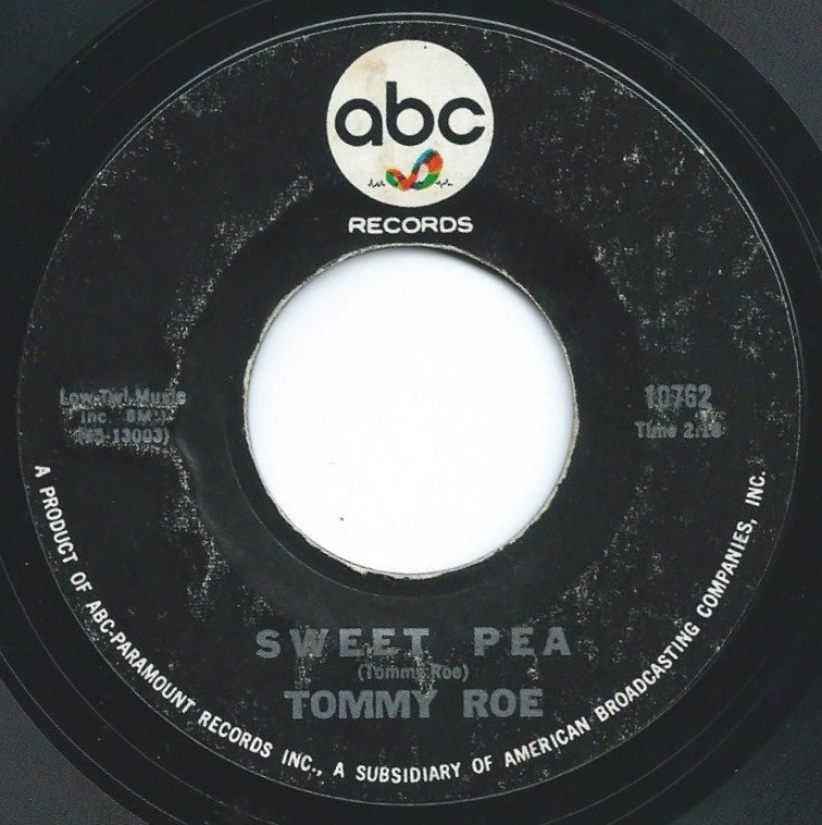 TOMMY ROE / SWEET PEA / MUCH MORE LOVE (7