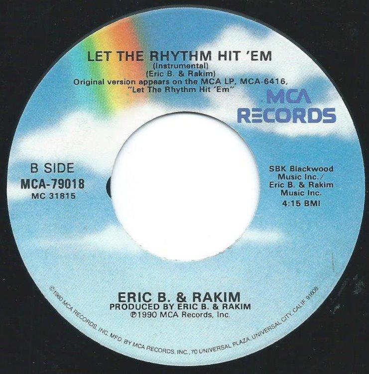 ERIC B. & RAKIM / LET THE RHYTHM HIT 'EM (7