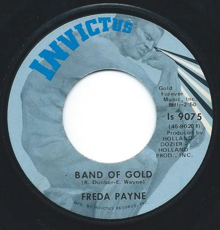 FREDA PAYNE ‎/ BAND OF GOLD / THE EASIEST WAY TO FALL (7