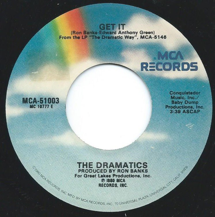 THE DRAMATICS / GET IT / SHARE YOUR LOVE WITH ME (7