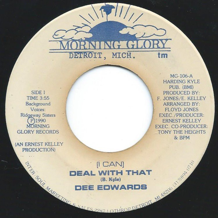 DEE EDWARDS / (I CAN) DEAL WITH THAT (7