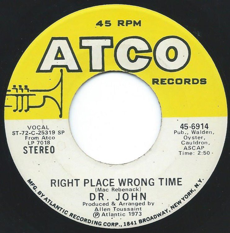 DR.JOHN / RIGHT PLACE WRONG TIME / BEEN HOODOOD (7