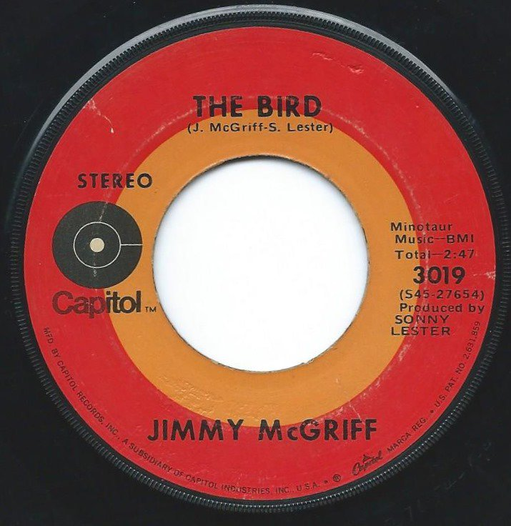 JIMMY MCGRIFF / THE BIRD / PLAIN BROWN BAG (7