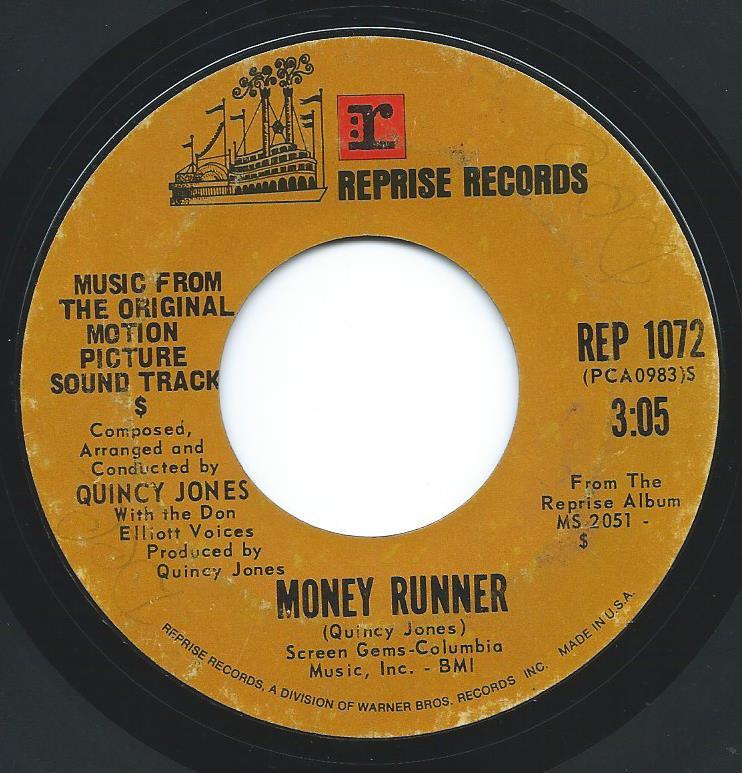 QUINCY JONES / MONEY RUNNER / PASSIN' THE BUCK (7