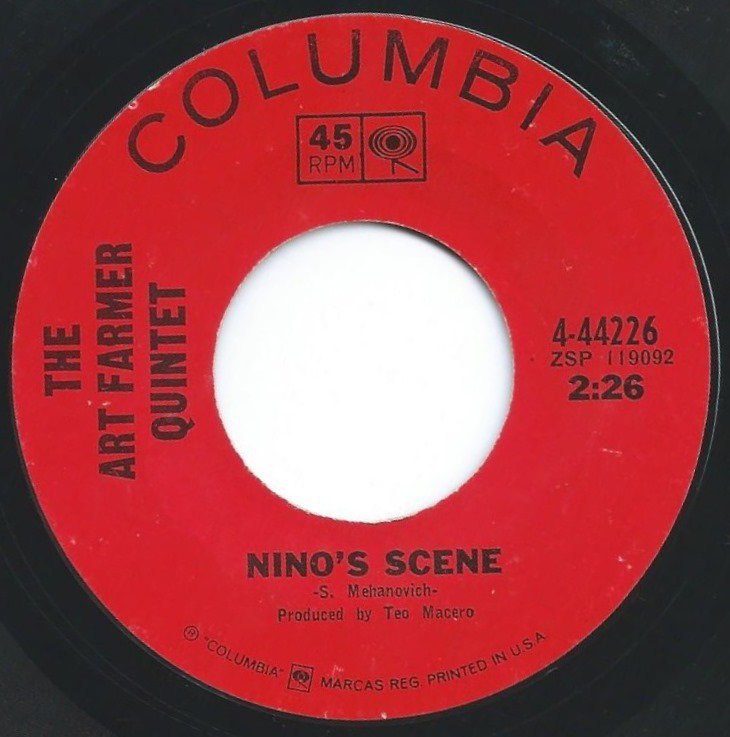 THE ART FARMER QUINTET / NINO'S SCENE / THE TIME AND THE PLACE (7