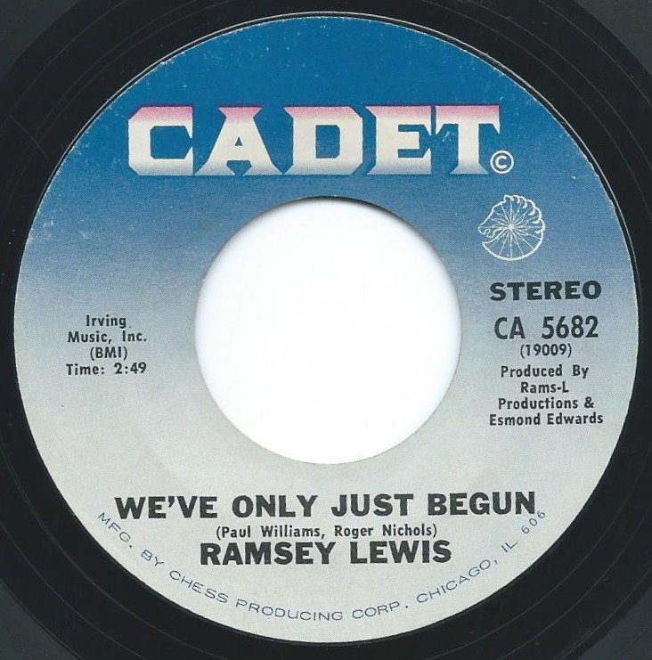 RAMSEY LEWIS / WE'VE ONLY JUST BEGUN / BACK TO THE ROOTS (7