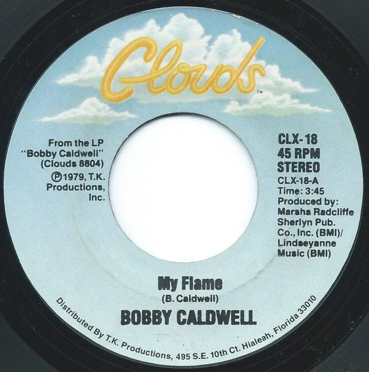 BOBBY CALDWELL / MY FLAME / COME TO ME (7