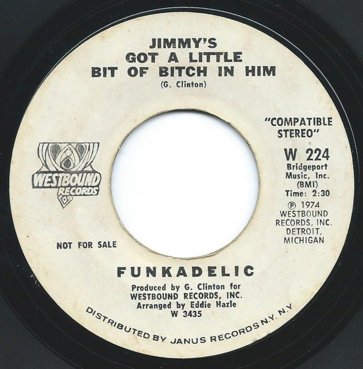 FUNKADELIC / STANDING ON THE VERGE OF GETTING IT ON (7