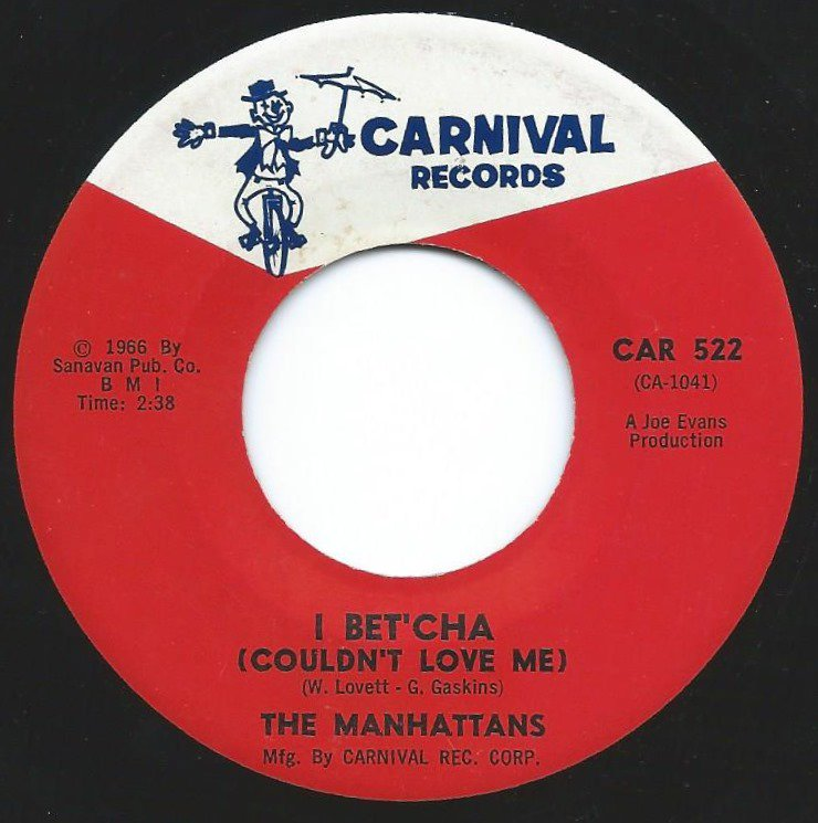 THE MANHATTANS / I BET'CHA (COULDN'T LOVE ME) / SWEET LITTLE GIRL (7