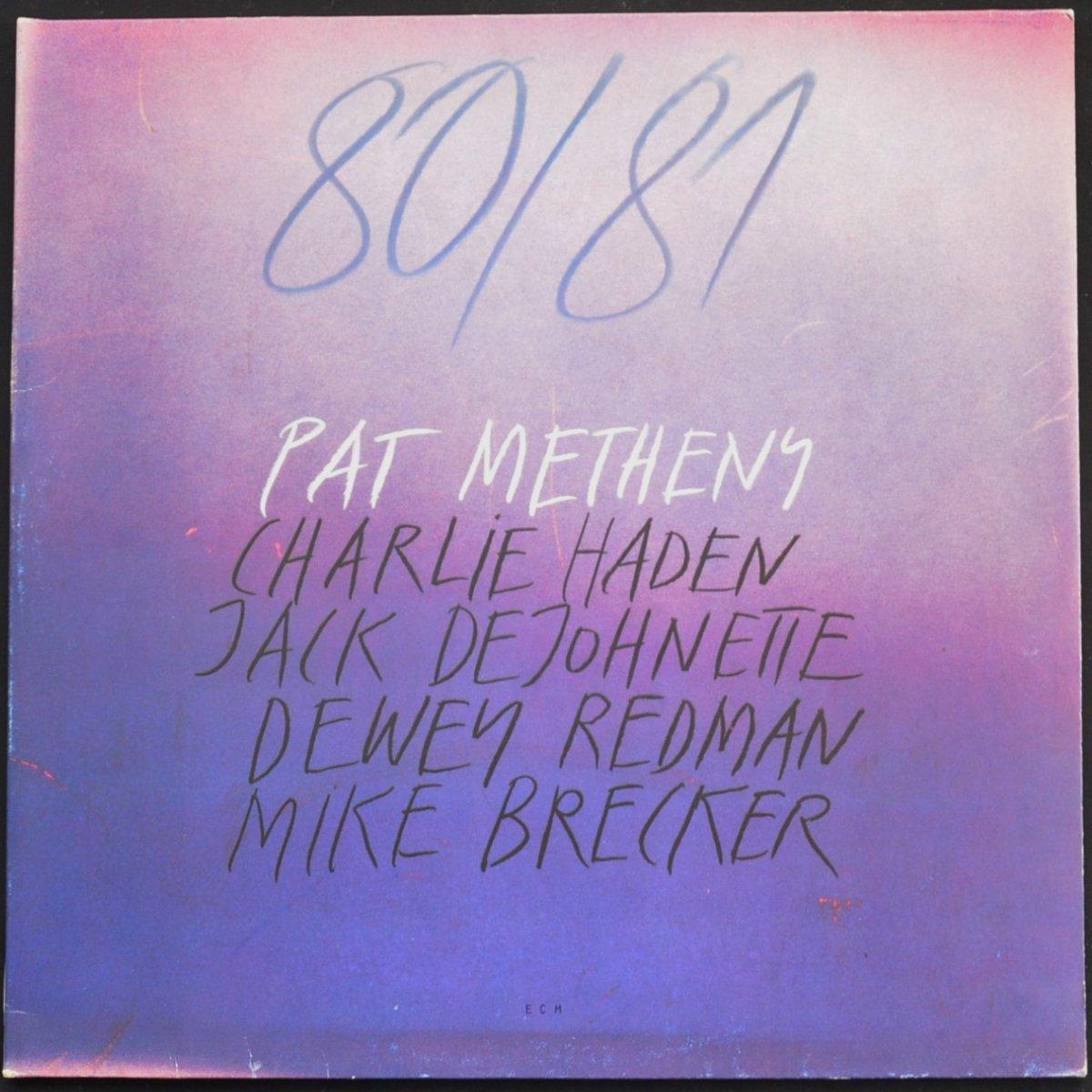PAT METHENY / 80/81 (2LP)