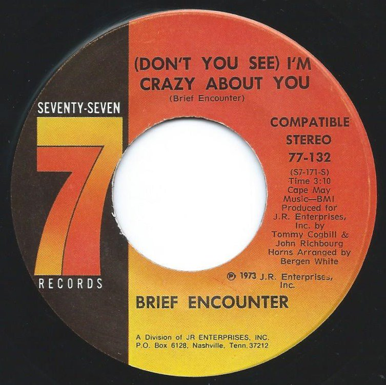 BRIEF ENCOUNTER / (DON'T YOU SEE) I'M CRAZY ABOUT YOU / WE'RE GOING TO MAKE IT (7