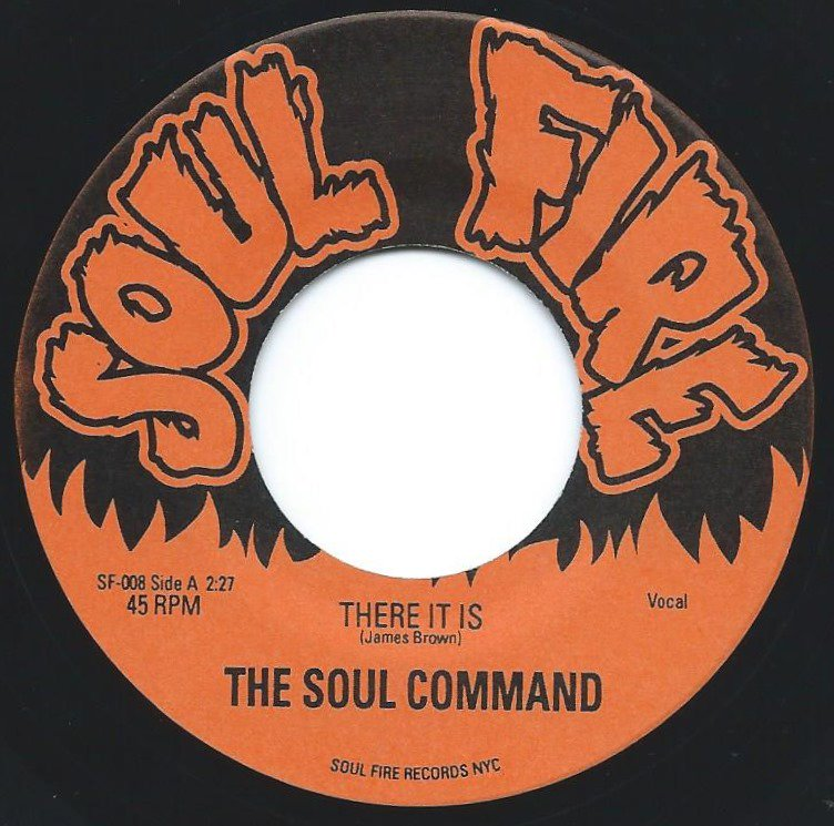 THE SOUL COMMAND / THERE IT IS / HOOK