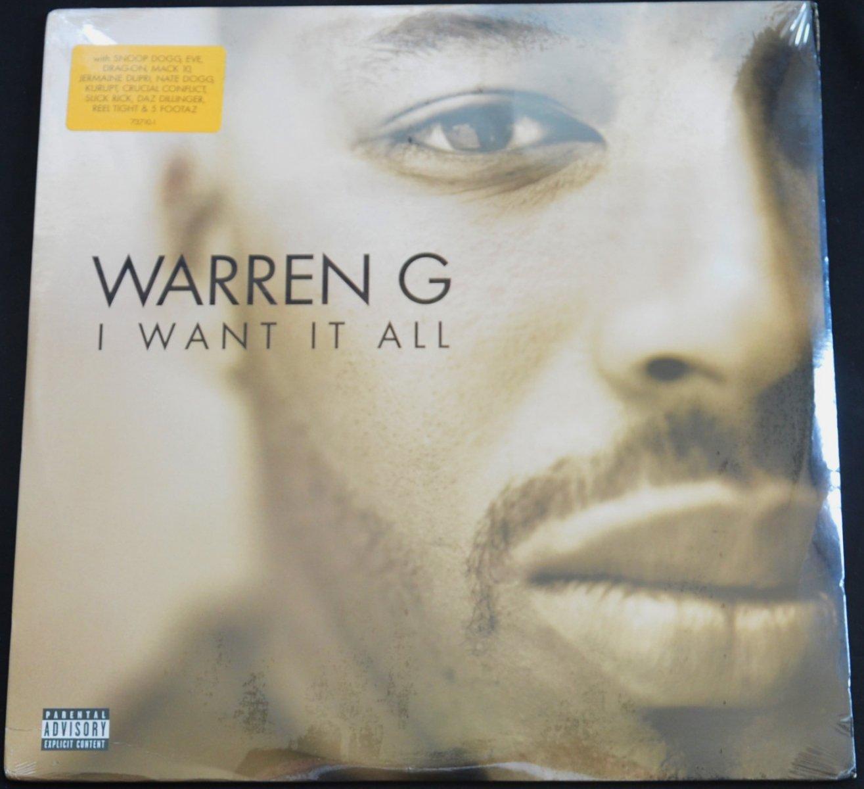 WARREN G / I WANT IT ALL (2LP)
