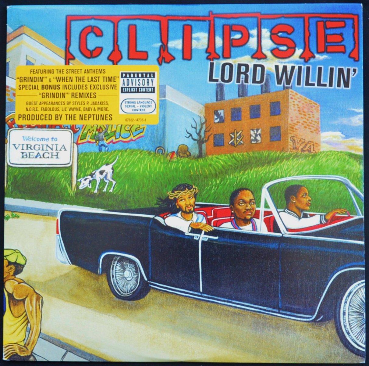CLIPSE / LORD WILLIN' (2LP)