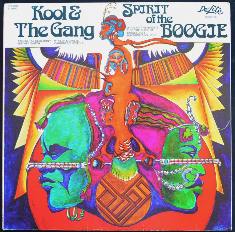 KOOL & THE GANG / SPIRIT OF THE BOOGIE (LP)