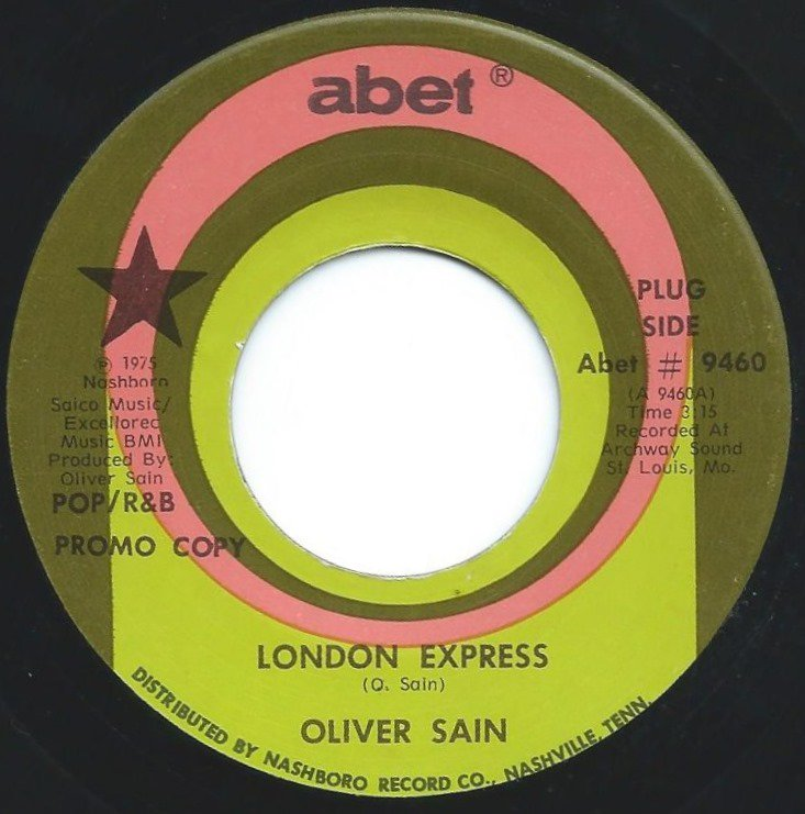 OLIVER SAIN / LONDON EXPRESS / BLOWING FOR LOVE (7