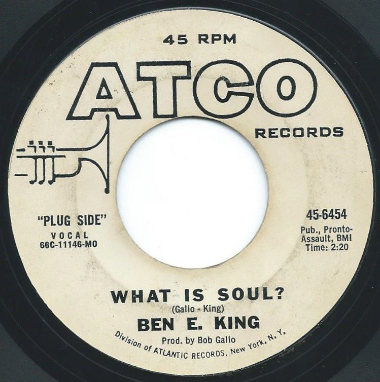 BEN E. KING / WHAT IS SOUL? / THEY DON'T GIVE MEDALS TO YESTERDAY'S HEROES (7