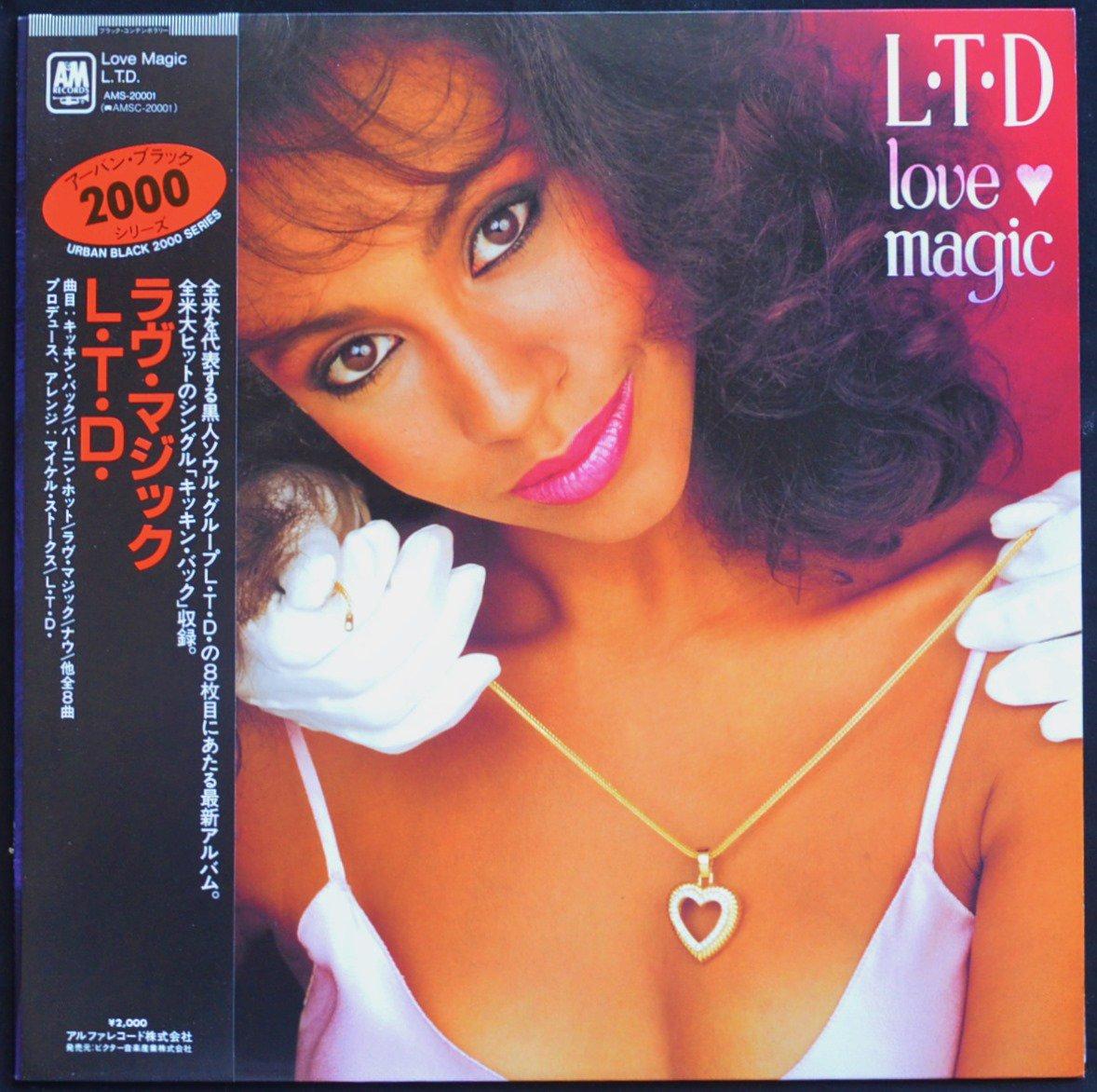 L.T.D. / ラヴ・マジック LOVE MAGIC (LP)