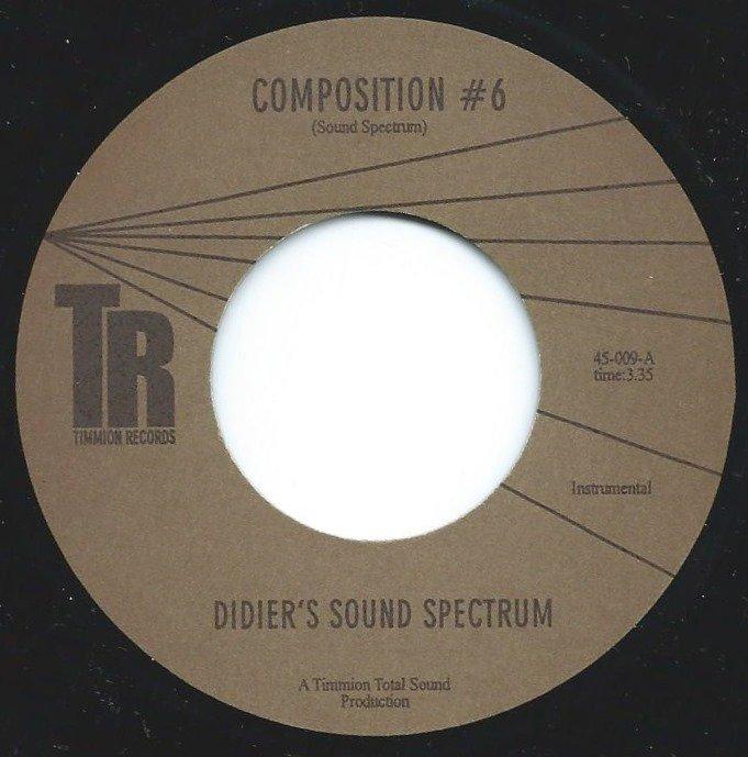 DIDIER'S SOUND SPECTRUM / COMPOSITION #6 / PROGRESSIVE TREATMENT UNIT (7