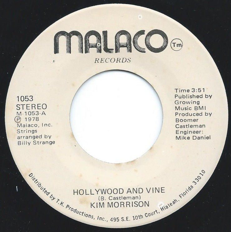 KIM MORRISON / HOLLYWOOD AND VINE / ONE IN A MILLION (7