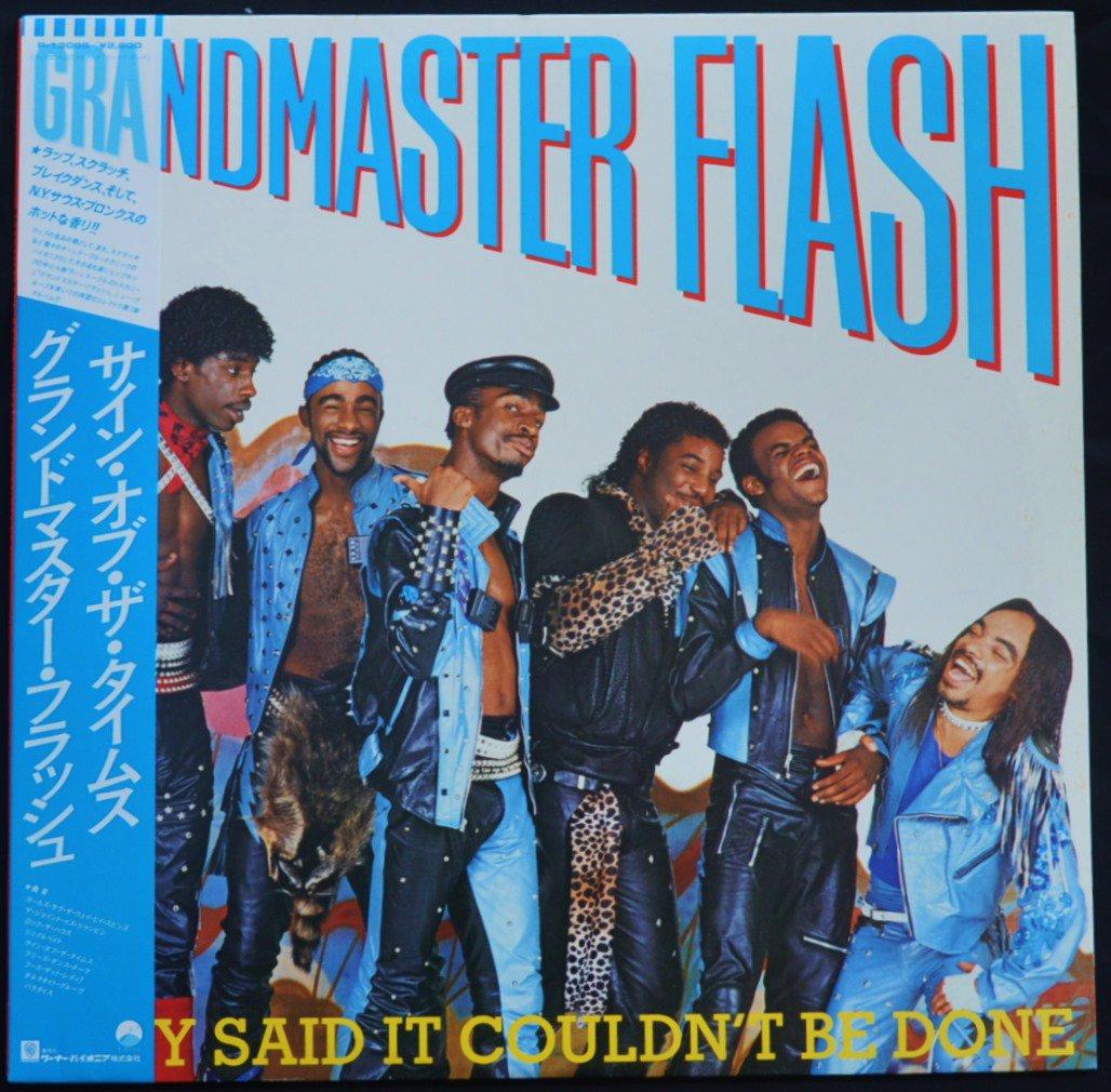 グランドマスター・フラッシュ GRANDMASTER FLASH / サイン・オブ・ザ・タイムス THEY SAID IT COULDN'T BE DONE (LP)